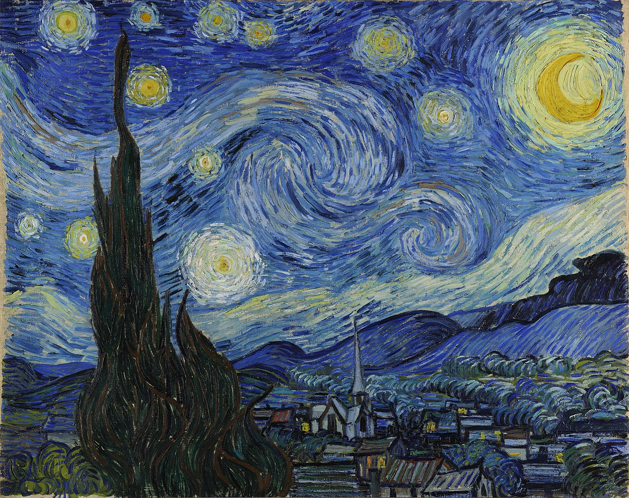 Starry Night by Van Gogh – An Age of Aesthetics | How We Add Value
