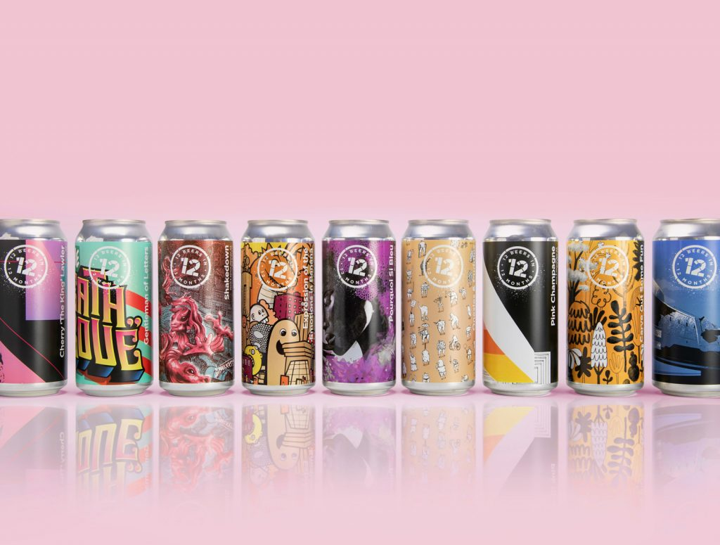 12 beers can designs