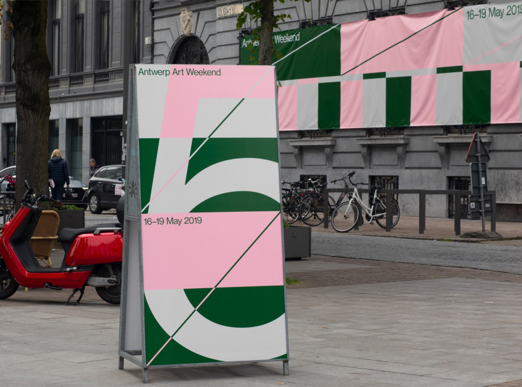 Art weekend in Antwerp, Belgium